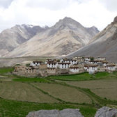breath-taking vastness: view of Spiti Valley