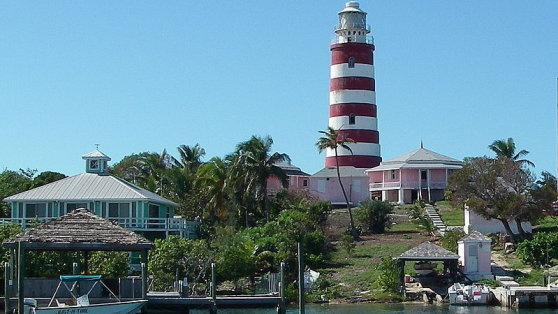 Bahamas - Hopetown Lighthouse, Elbow Cay, Abacos