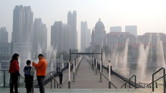 China - Brücke in Tianjin