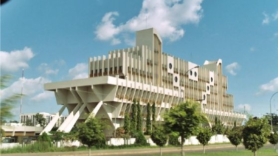 Nigeria - Ship House, Ministry of Defense building, Abuja