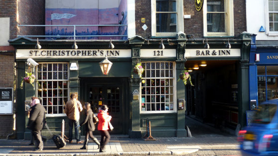 GB - St Christophers Inn, Southwark, London